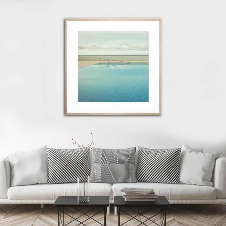 Seef 2 - Framed Print