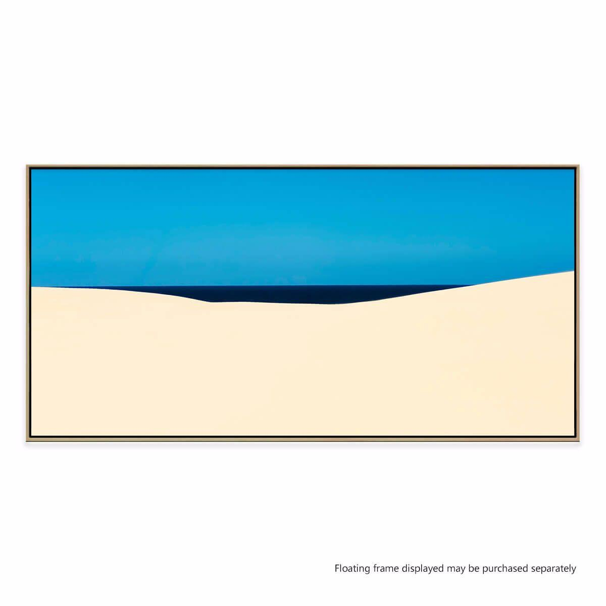 Sky sea desert canvas print buy australian made canvas for Canvas prints to buy