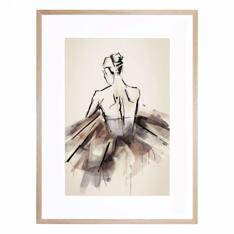 The Ballerina   United Interiors   Buy Australian Made Framed Prints