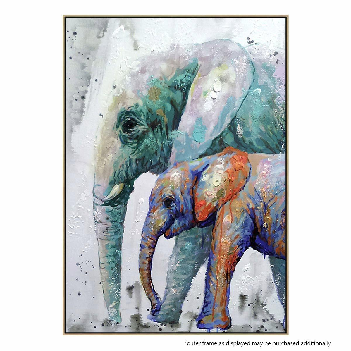 abstract elephant painting - Saman.cinetonic.co