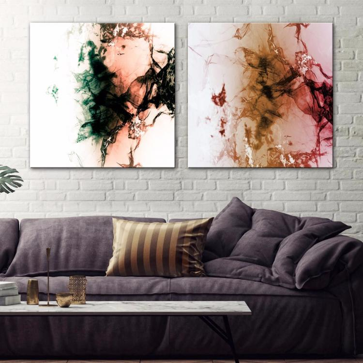 Crystal Shards-Soulful Bliss - Canvas Print