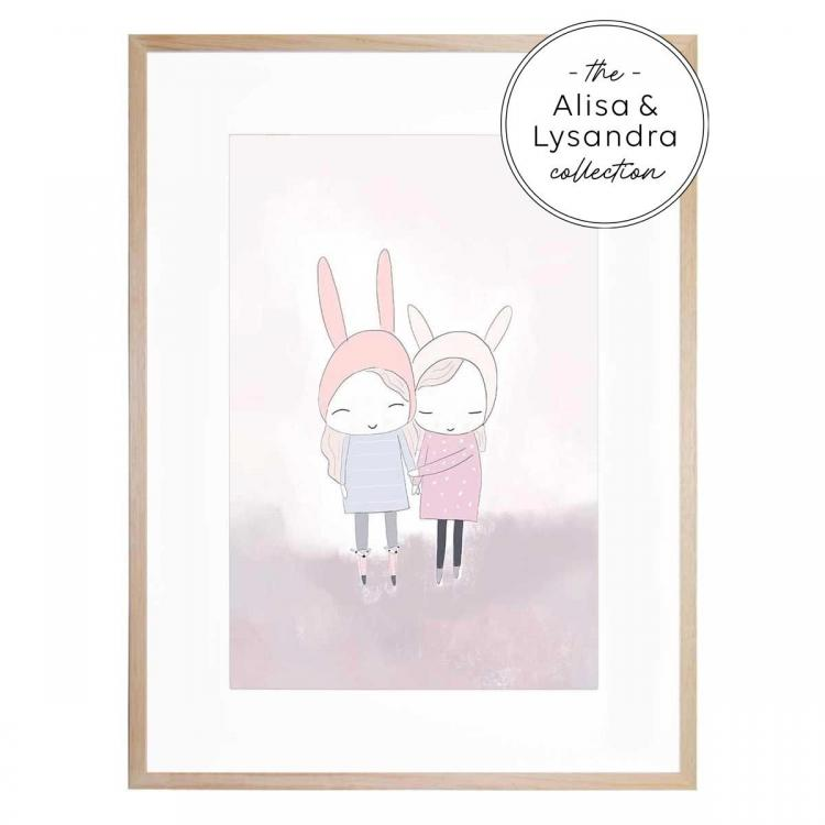 Best of Friends - Framed Print