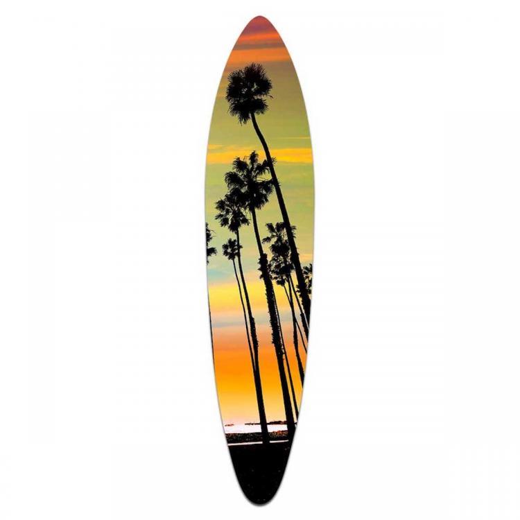 California Sunset - Acrylic Art