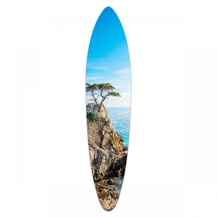Pebble Beach - Acrylic Art