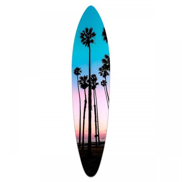 Santa Barbara Palms - Acrylic Art