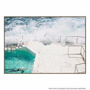 Beach Waves - Canvas Print