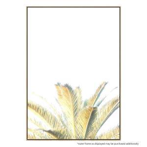 Washout Palm - Canvas Print