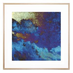 Blue Paper Clouds - Framed Print