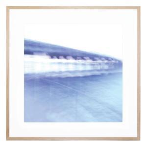 Blue Bridge 2 - Framed Print