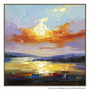 Sunrise Reflections - Painting