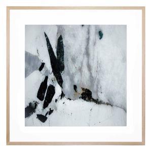 Agate in Blush - Framed Print