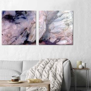 Estella's Line 1 / Estella's Line 2 - Canvas Print