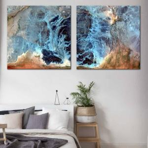Orions Position 1 / Orions Position 2 - Canvas Print
