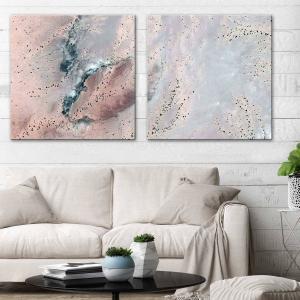 Powder Stone 1 / Powder Stone 2 - Canvas Print