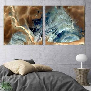 Sands of Gold 1 / Sands of Gold 2 - Canvas Print