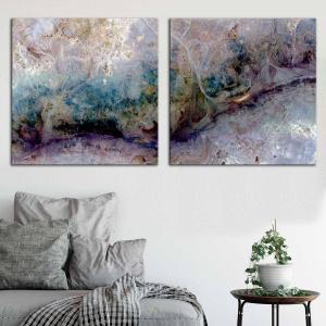 Serial Lux 1 / Serial Lux 2 - Canvas Print