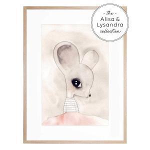 Ella - Framed Print