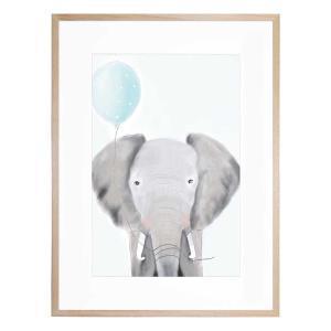 Ethan the Elephant - Framed Print