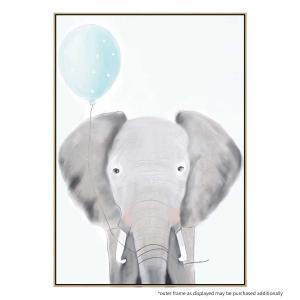 Ethan the Elephant - Canvas Print