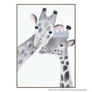 Gracie The Giraffe - Canvas Print
