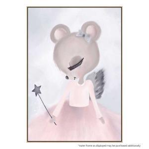 Ballerina Belle - Canvas Print