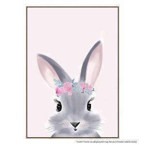 Billie The Bunny - Canvas Print