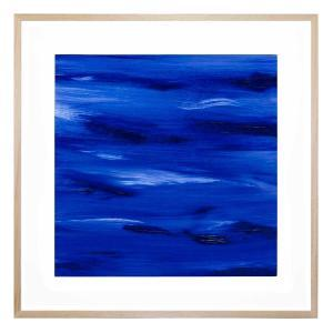 Deep Blue Beyond - Framed Print