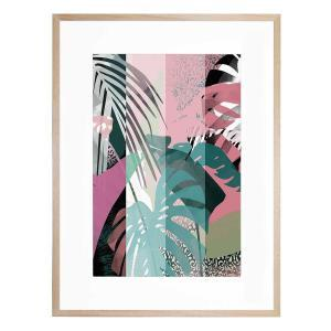 In the Tropics - Framed Print