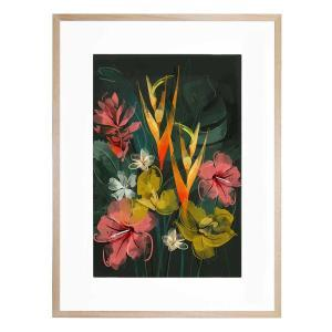 Tropical Flowers - Framed Print