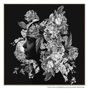 Squarefloral - Canvas Print