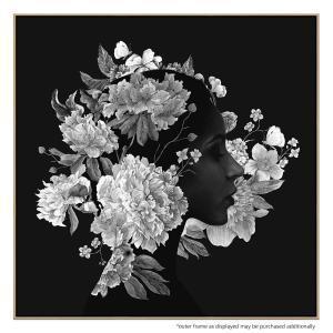Squareflora - Canvas Print
