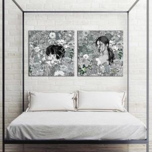 Ambient Space /  Forgotten Eternity - Canvas Print