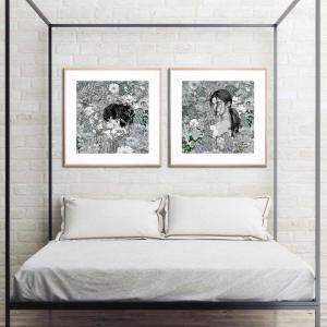 Ambient Space / Forgotten Eternity - Framed Print