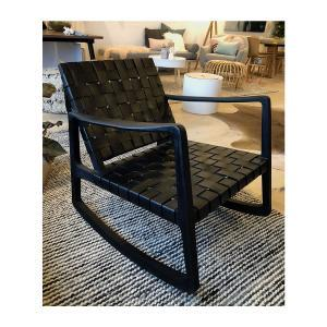 Gabi Rocking Chair - Black
