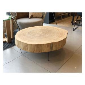 Solid Timber Slab Table