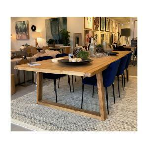 3M Recycled Elm Table and 8 Tisha Dining chair set
