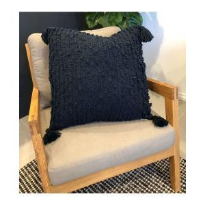 Faith Cushion - Navy Blue (55x55)