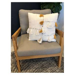 Falan Cushion - Cream (45x45)