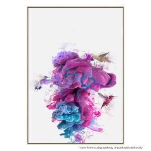Hummingbird Sink - Canvas Print