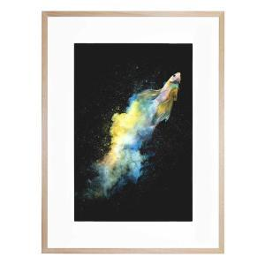 Falling Out - Framed Print