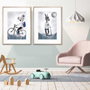 Harvey The Koala / Leo  - Framed Print