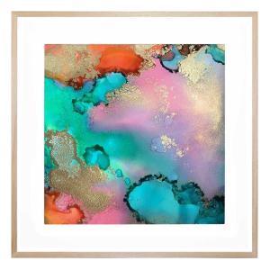 Pastel Reef - Framed Print