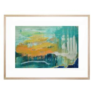 Beyond the Shore - Framed Print