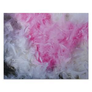 Feather Floss - Canvas Print - One Only