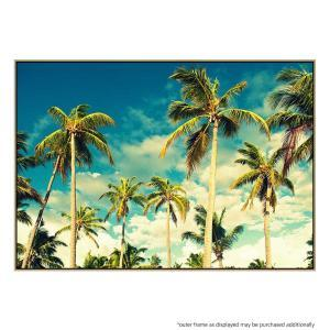 Bright Palms - Canvas Print