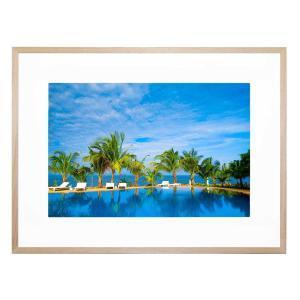 Beach Resort - Framed Print