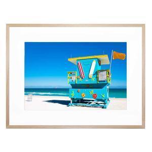 Beach Shack - Framed Print