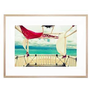 Calm Ashore - Framed Print