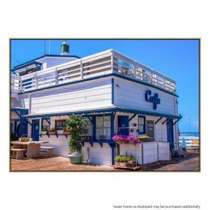 Beachside Diner - Canvas Print