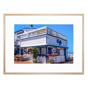 Beachside Diner - Framed Print